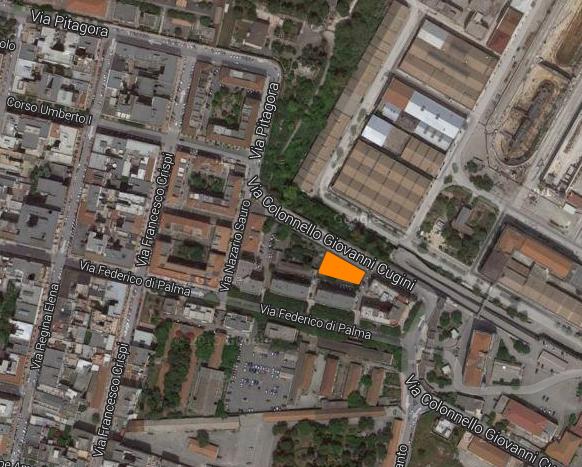 nuovo parcheggio in via Ammiraglio Pacoret de Saint Bon a Taranto