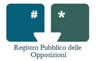 RPO: Registro Pubblico delle Opposizioni