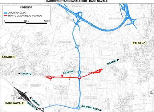 nuova strada provinciale 101 Taranto-Talsano